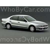 Поколение Mitsubishi Galant VIII седан