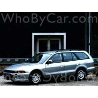 Поколение Mitsubishi Galant VIII 5 дв. универсал