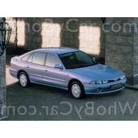 Поколение Mitsubishi Galant VII 5 дв. хэтчбек