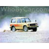Поколение Mitsubishi Montero I 3 дв. внедорожник