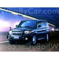 Поколение Mitsubishi Pajero iO 5 дв. внедорожник