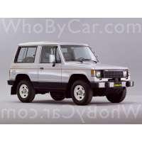 Поколение Mitsubishi Pajero I 3 дв. внедорожник