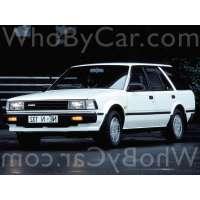Поколение Nissan Bluebird VII (U11) 5 дв. универсал