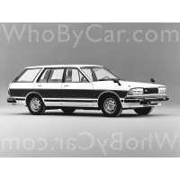Поколение Nissan Bluebird VI (910) 5 дв. универсал