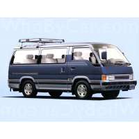 Поколение Nissan Caravan III (E24)