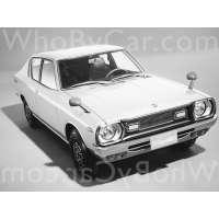 Поколение Nissan Cherry II (F10) 2 дв. седан