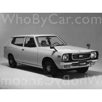 Поколение Nissan Cherry II (F10) 3 дв. универсал