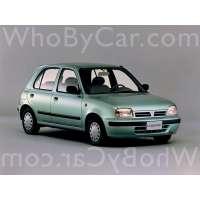 Поколение Nissan March II (K11) 5 дв. хэтчбек