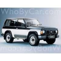 Поколение Nissan Patrol IV (Y60) 3 дв. внедорожник