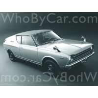 Поколение Datsun Cherry I купе