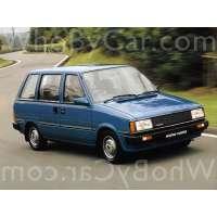 Поколение Nissan Prairie I (M10)