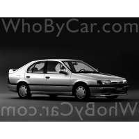 Поколение Nissan Primera I (P10) 5 дв. хэтчбек