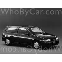 Поколение Nissan Pulsar V (N15) 3 дв. хэтчбек