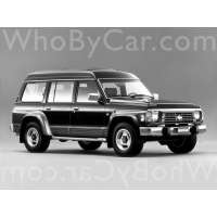 Поколение Nissan Safari IV (Y60) 5 дв. внедорожник