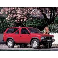 Поколение Nissan Terrano I 3 дв. внедорожник
