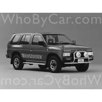 Поколение Nissan Terrano I 5 дв. внедорожник
