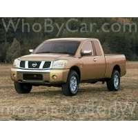 Поколение Nissan Titan пикап с полуторной кабиной