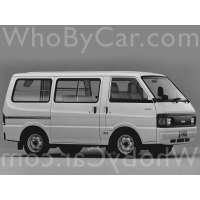 Поколение Nissan Vanette III