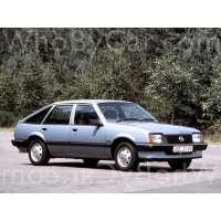 Поколение Opel Ascona C 5 дв. хэтчбек