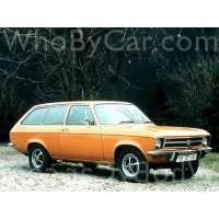 Поколение Opel Ascona A 3 дв. универсал