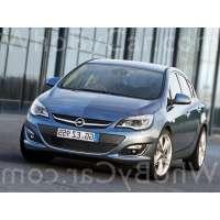 Поколение Opel Astra J 5 дв. хэтчбек рестайлинг