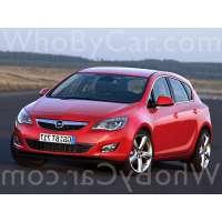 Поколение Opel Astra J 5 дв. хэтчбек
