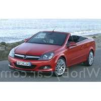 Поколение автомобиля Opel Astra H кабриолет рестайлинг