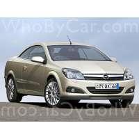 Поколение Opel Astra H кабриолет