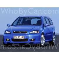 Поколение Opel Astra OPC G 5 дв. универсал рестайлинг