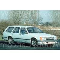 Поколение Opel Commodore C 5 дв. универсал