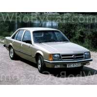 Поколение Opel Commodore C седан