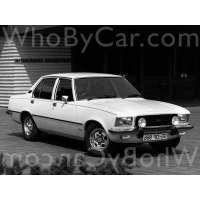 Поколение Opel Commodore B седан