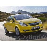Поколение Opel Corsa D I 3 дв. хэтчбек рестайлинг