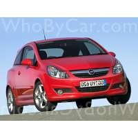 Поколение Opel Corsa D 3 дв. хэтчбек