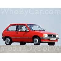 Поколение Opel Corsa A 3 дв. хэтчбек