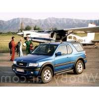 Поколение Opel Frontera B 3 дв. внедорожник рестайлинг