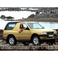 Поколение Opel Frontera A 3 дв. внедорожник