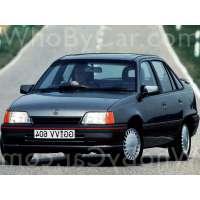 Поколение Opel Kadett E седан рестайлинг