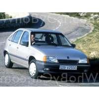 Поколение Opel Kadett E 5 дв. хэтчбек рестайлинг