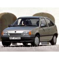 Поколение Opel Kadett E 3 дв. хэтчбек рестайлинг