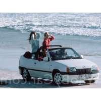 Поколение Opel Kadett E кабриолет