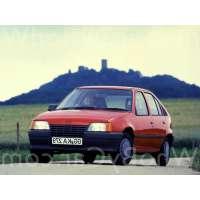 Поколение Opel Kadett E 5 дв. хэтчбек