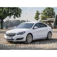 Поколение Opel Insignia I седан рестайлинг