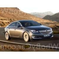 Поколение Opel Insignia I лифтбек рестайлинг