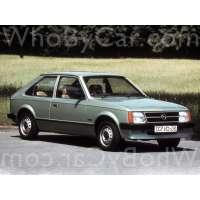 Поколение Opel Kadett D 3 дв. хэтчбек