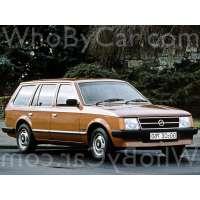 Поколение Opel Kadett D 5 дв. универсал