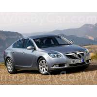 Поколение Opel Insignia I лифтбек