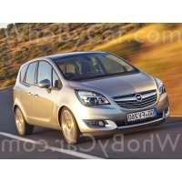 Поколение Opel Meriva B рестайлинг