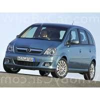 Поколение Opel Meriva A рестайлинг