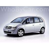Поколение Opel Meriva A